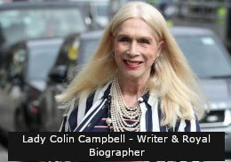 Lady Colin Campbell - Writer & Royal Biographer Final Text