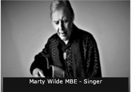Marty Wilde MBE - Singer Final Text