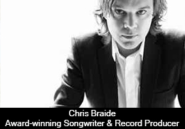 Chris Braide – Award-winning Songwriter and Record Producer