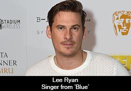 Lee Ryan – Singer from 'Blue'